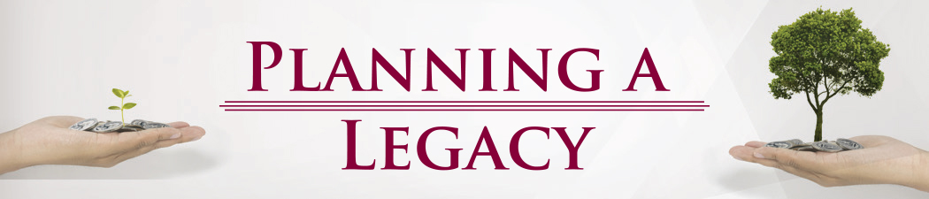 Planning a Legacy banner