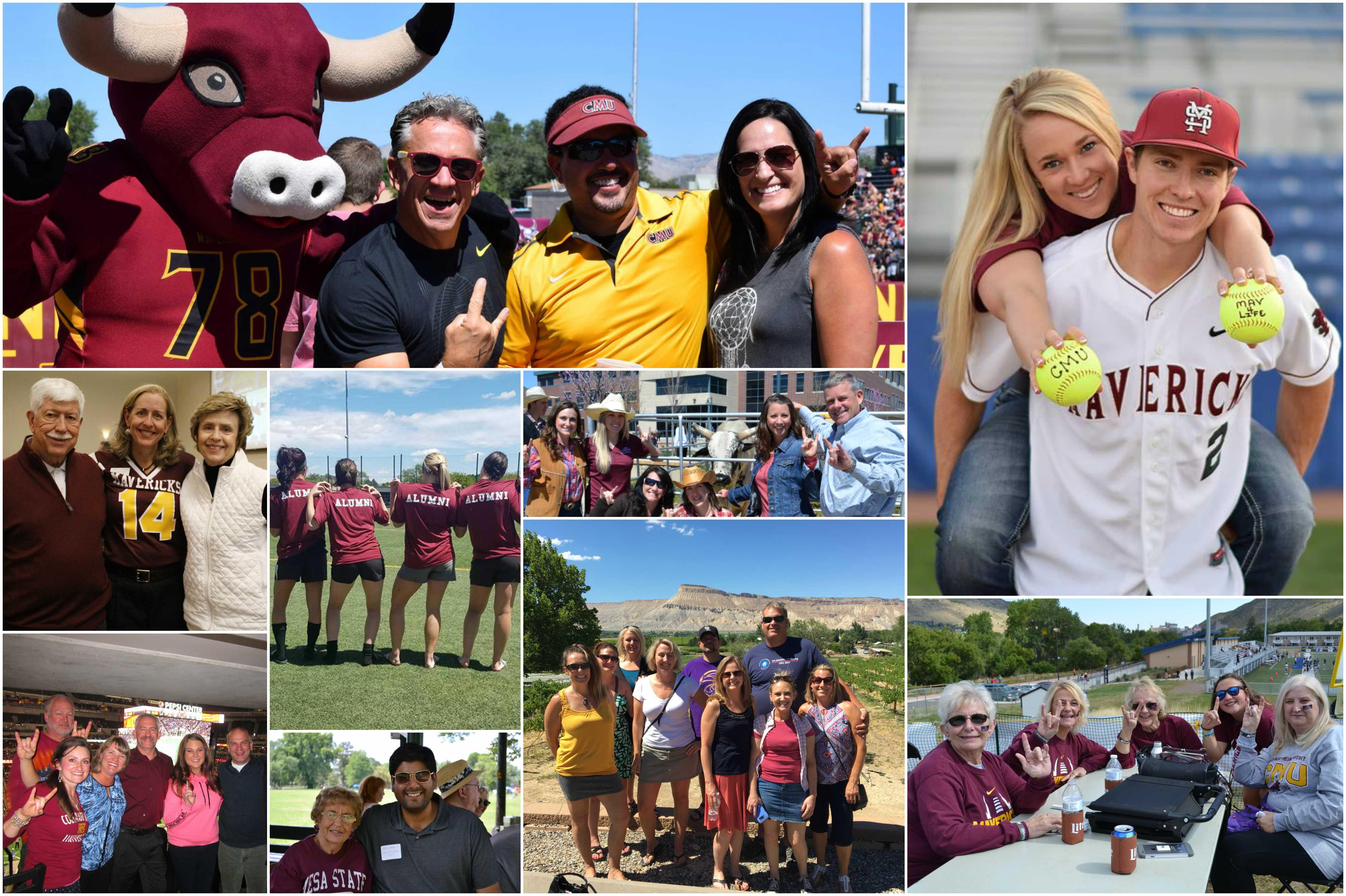 Alumni Association Collage
