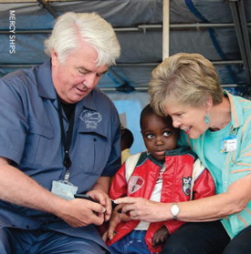 Don and Deyon Stephens have traveled the globe with their charity providing medical services to the poor.