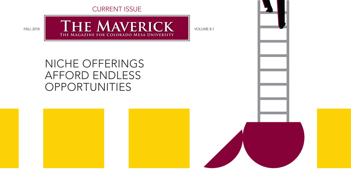 View the current issue of The Maverick, Fall 2018