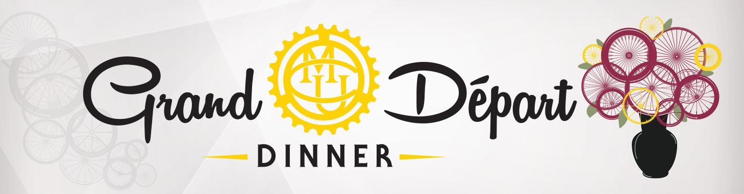 Grand Départ Dinner - large banner