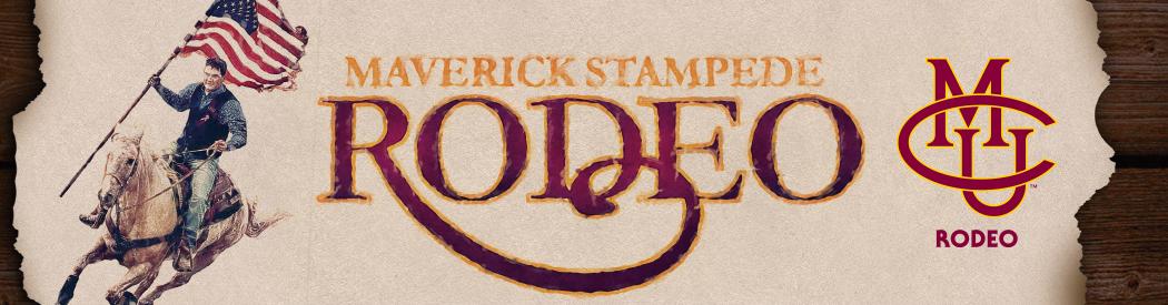 Maverick Stampede Banner